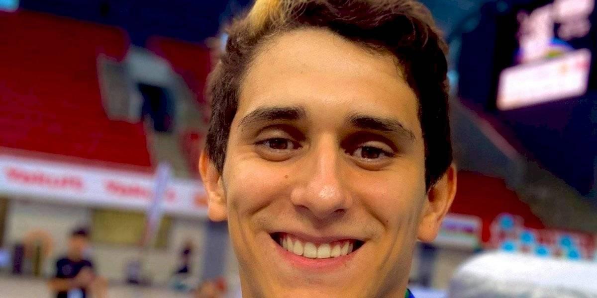 El mexicano Diego Balleza consigue bronce en Grand Prix de clavados