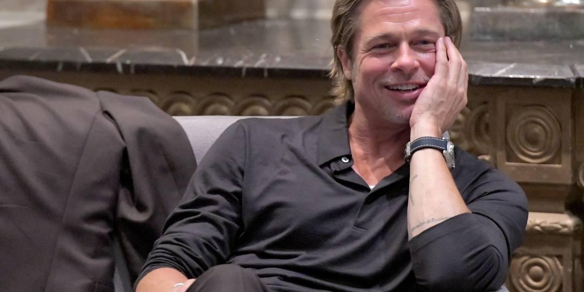 Brad Pitt fue captado en varias ocasiones con esta actriz 25 años menor que él