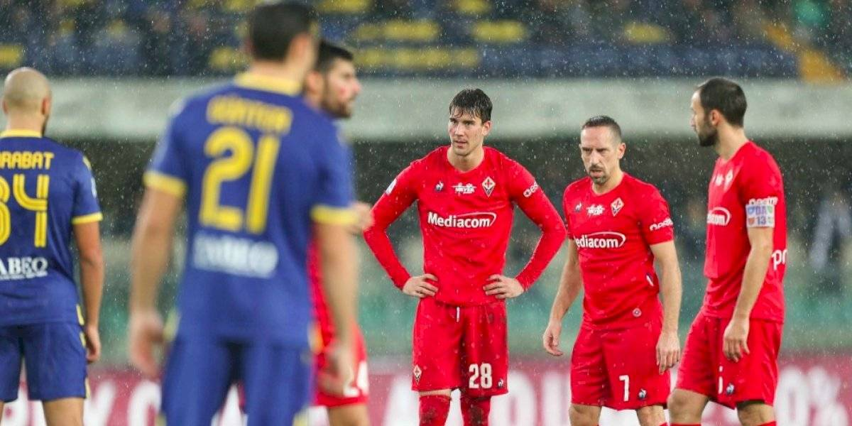 Fiorentina perdió ante Hellas Verona y se aleja de los puestos de competiciones europeas en la Serie A