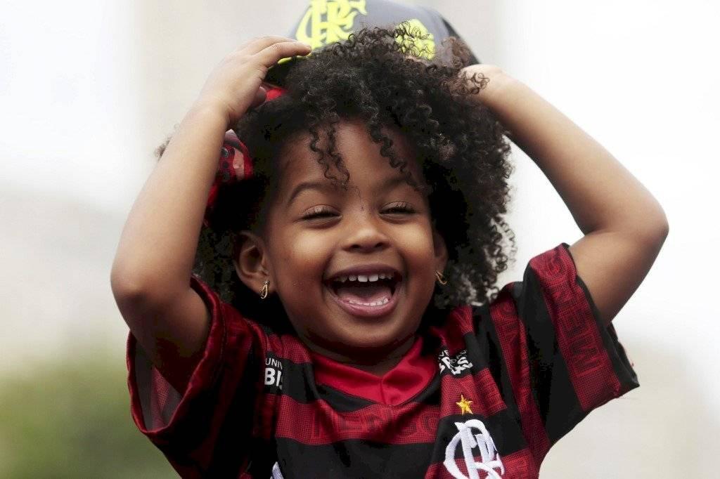 Foto AFP   Gabriel Barbosa le dio la felicidad a millones de aficionados del Flamengo el sábado