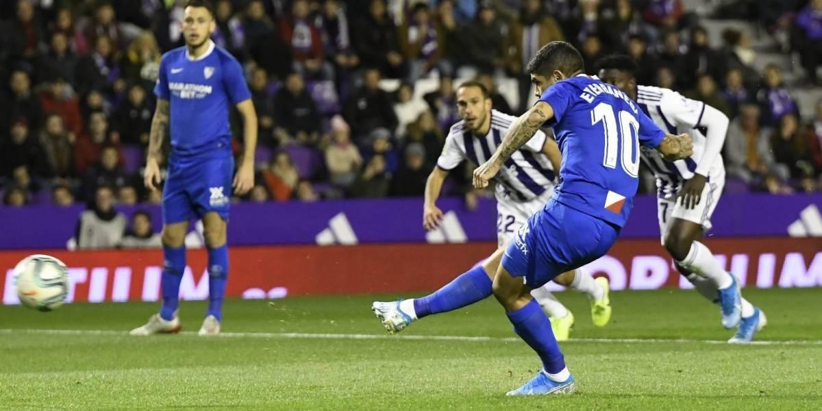 Sevilla, sin Chicharito, logra vencer al Valladolid