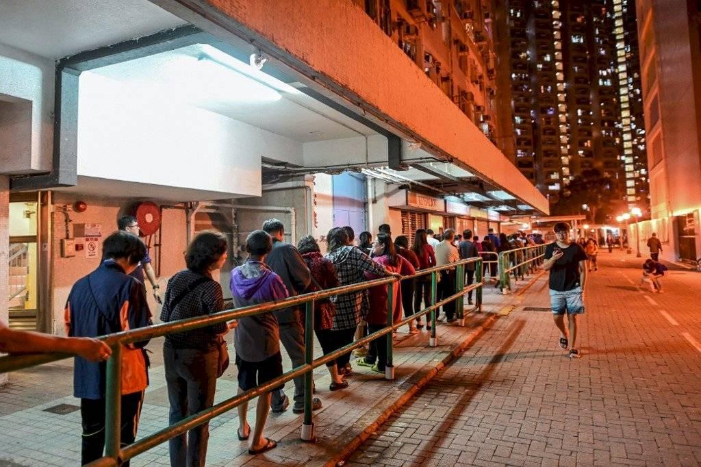 Elecciones locales en Hong Kong