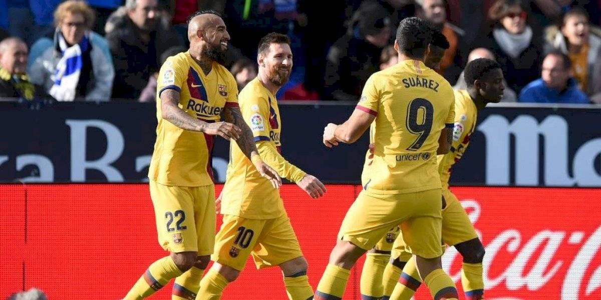 """Arturo Vidal sigue sumando elogios como """"salvavidas"""" del Barcelona y sus apariciones desde la banca"""