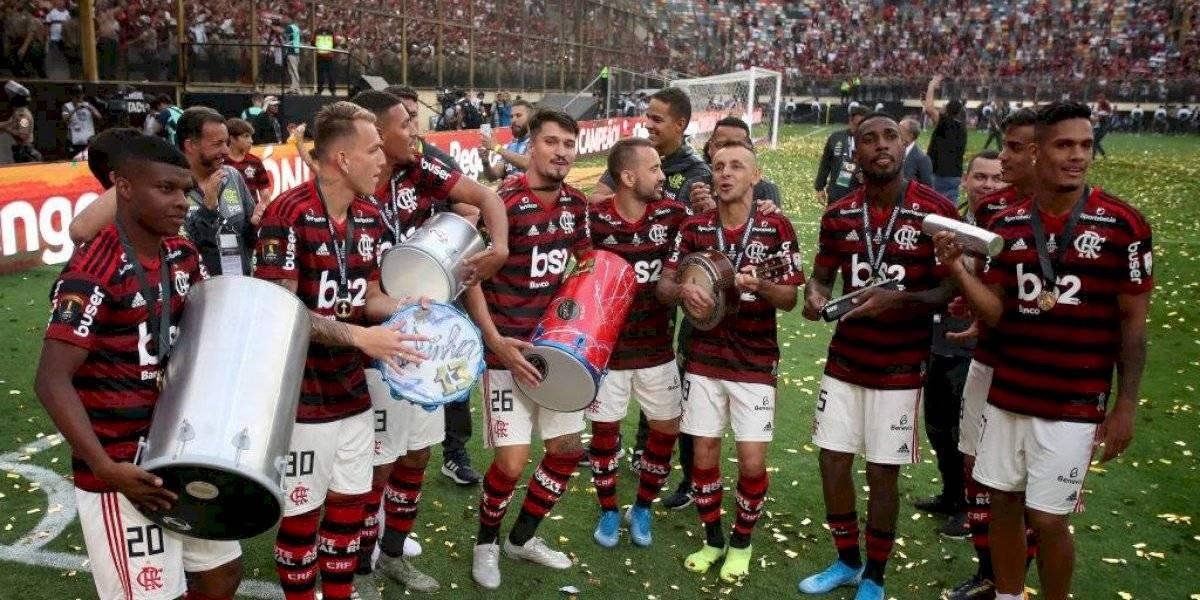 La fiesta continúa: Flamengo se consagró campeón del Brasileirao tras derrota del Palmeiras