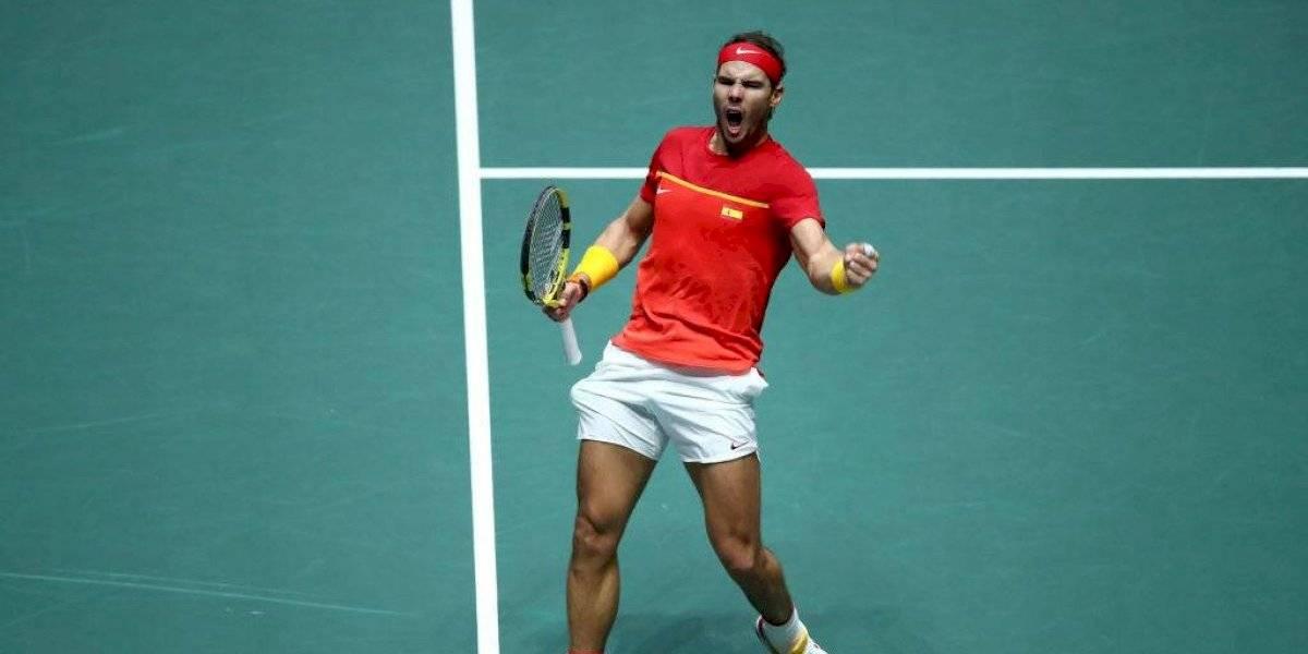 Rafael Nadal comanda a España a ganar su sexta Copa Davis de la historia