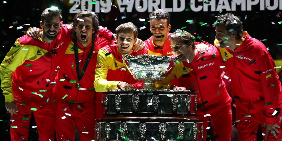 Nadal lleva a España a su sexta Copa Davis