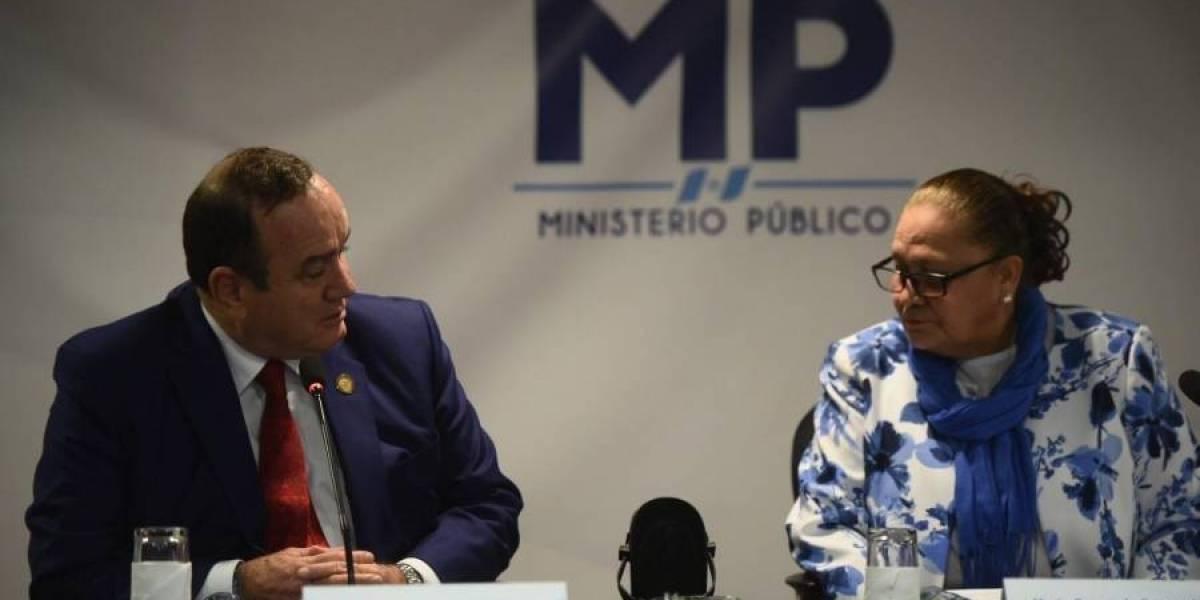 Fiscal Consuelo Porras resalta aumento de personas condenadas