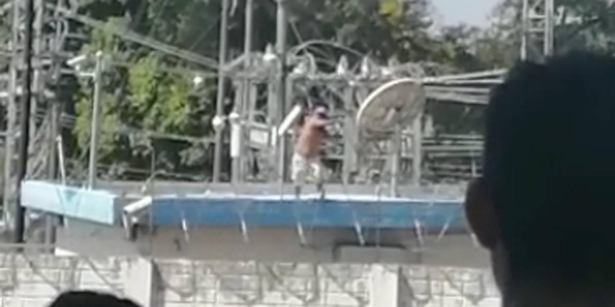 VIDEO. INDE rechaza actos violentos en subestación de Malacatán
