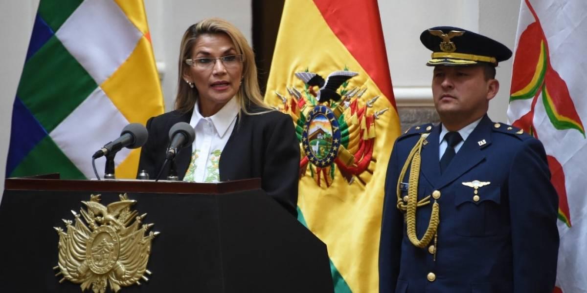 Áñez promulga ley para celebrar nuevas elecciones en Bolivia