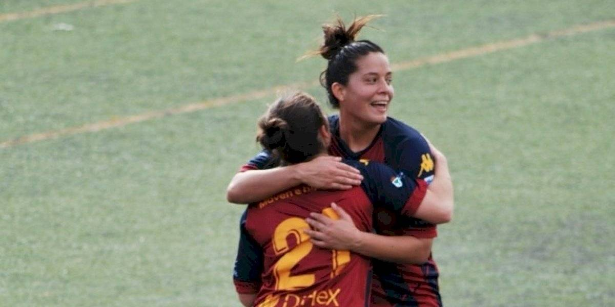 "VIDEO. La hija de ""Mincho Monterroso"" eriza la piel con su gol en Europa"