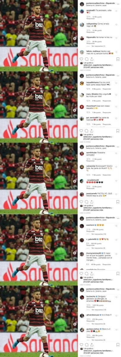 Mensajes Cuéllar Flamengo