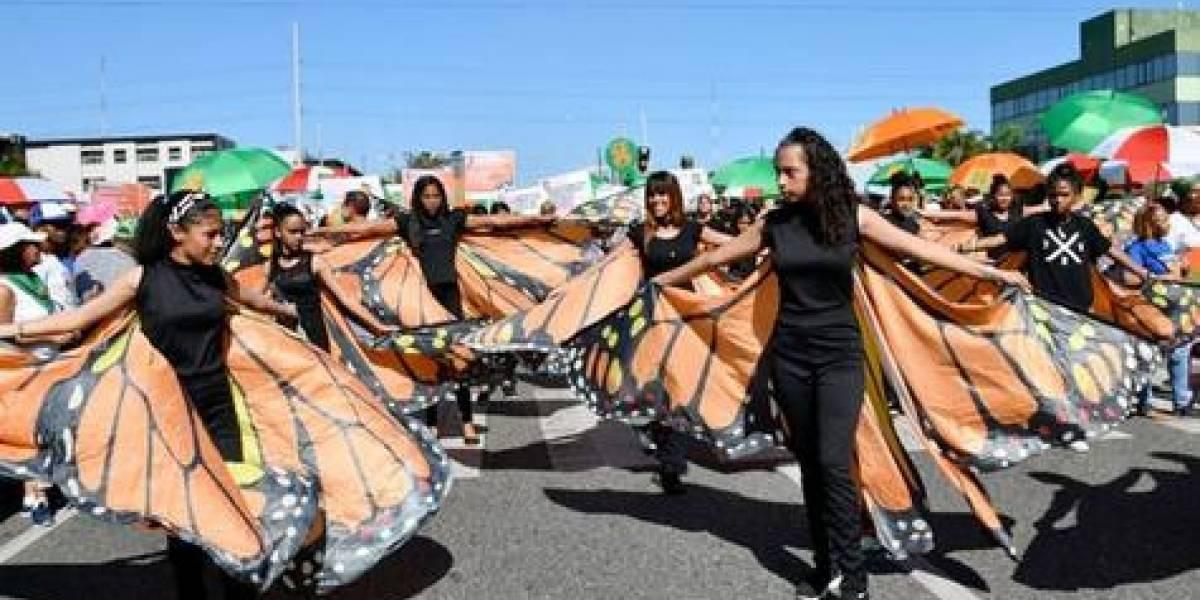 Música, arte y caminatas por la no violencia de género