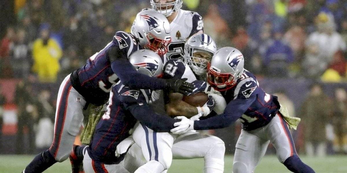 Patriots supera a Cowboys y llega a diez triunfos en la campaña