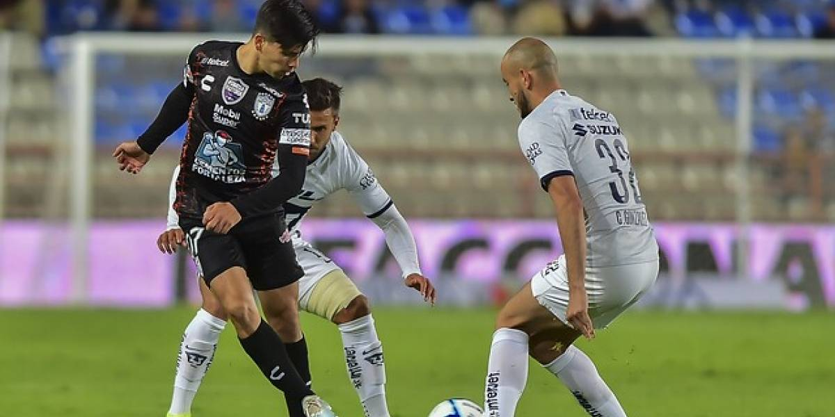 Pachuca de Víctor Dávila se impuso a Pumas de Felipe Mora en el cierre de la fase regular de la Liga MX