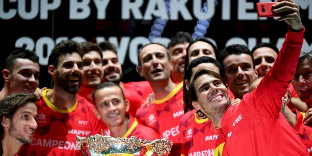 VIDEO. El dramático festejo de Rafael Nadal tras darle a España la Copa Davis