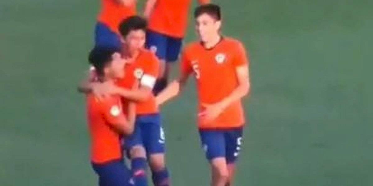 La Roja Sub 15 tuvo un duro debut en el Sudamericano y salvó el empate en el último minuto ante Ecuador