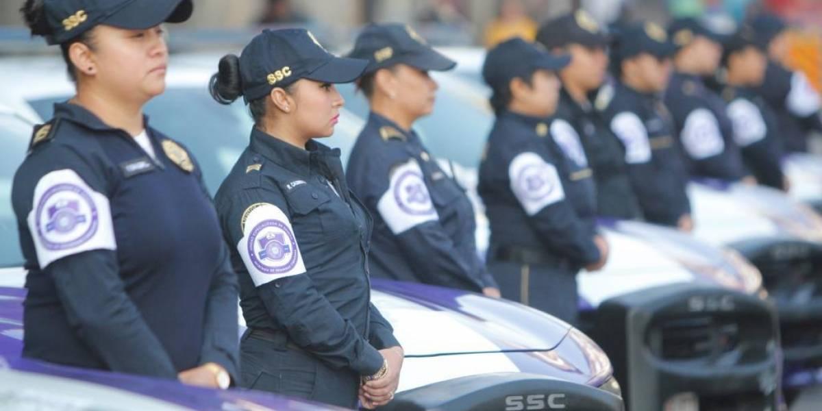 SSC-CDMX pone en marcha Unidad de Protección para mujeres policía