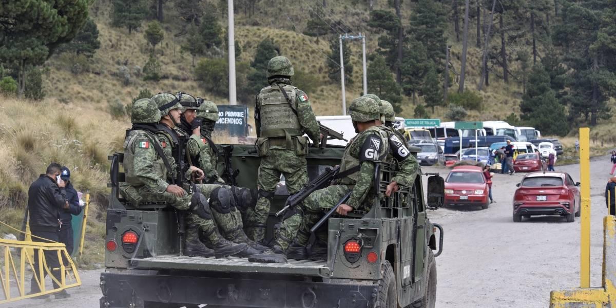 Guardia Nacional busca a turistas secuestrados en el Nevado de Toluca