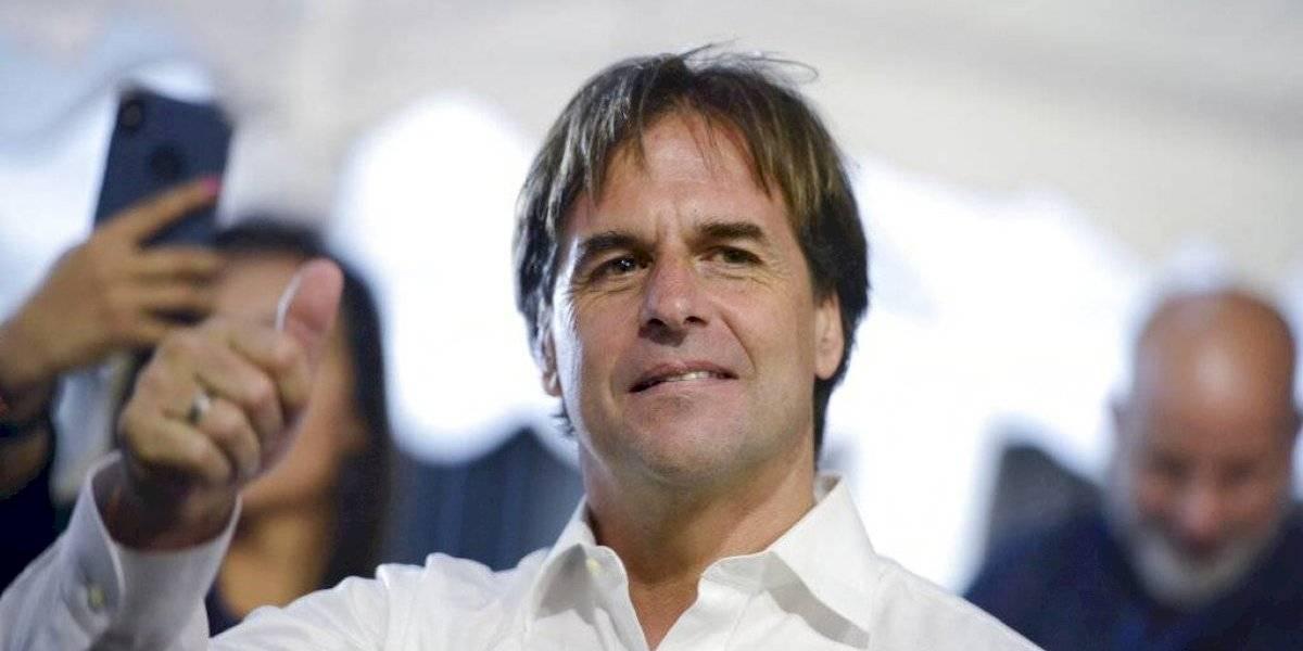 Luis Lacalle Pou aventaja en las elecciones de Uruguay