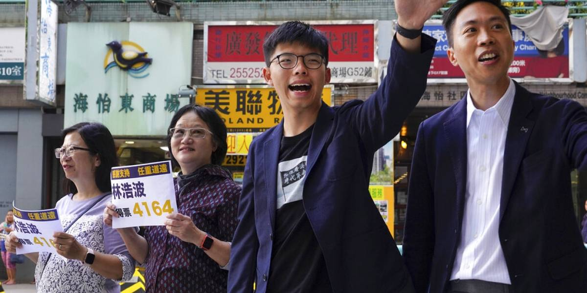 Bloque prodemócrata arrasa en las elecciones de Hong Kong