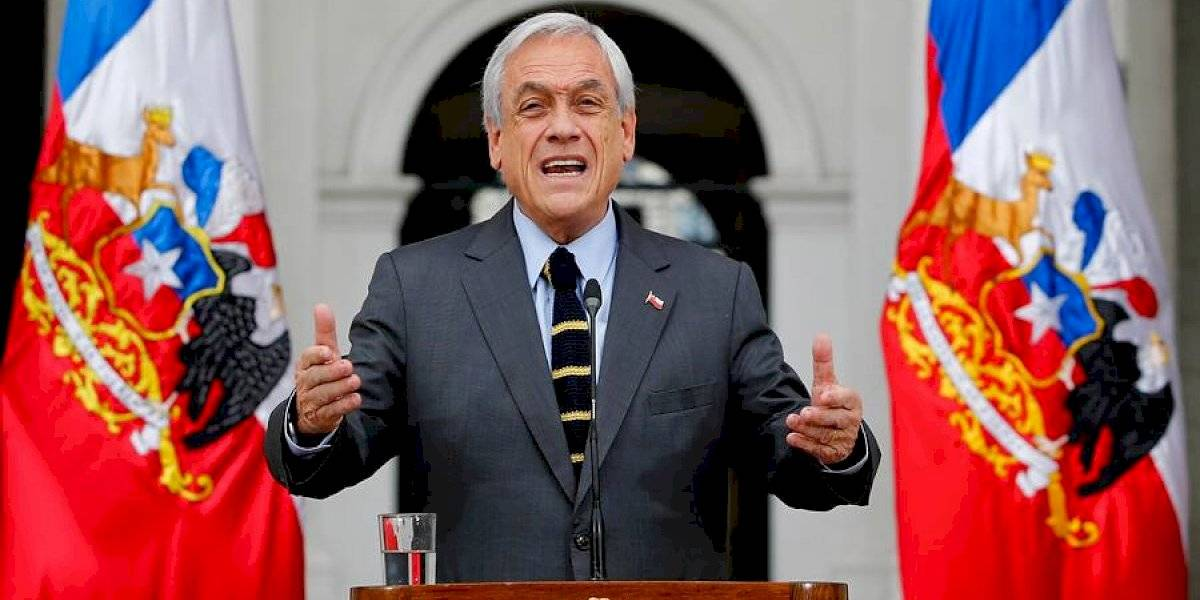 Piñera anuncia discusión inmediata en el Congreso para que FF.AA protejan puntos críticos