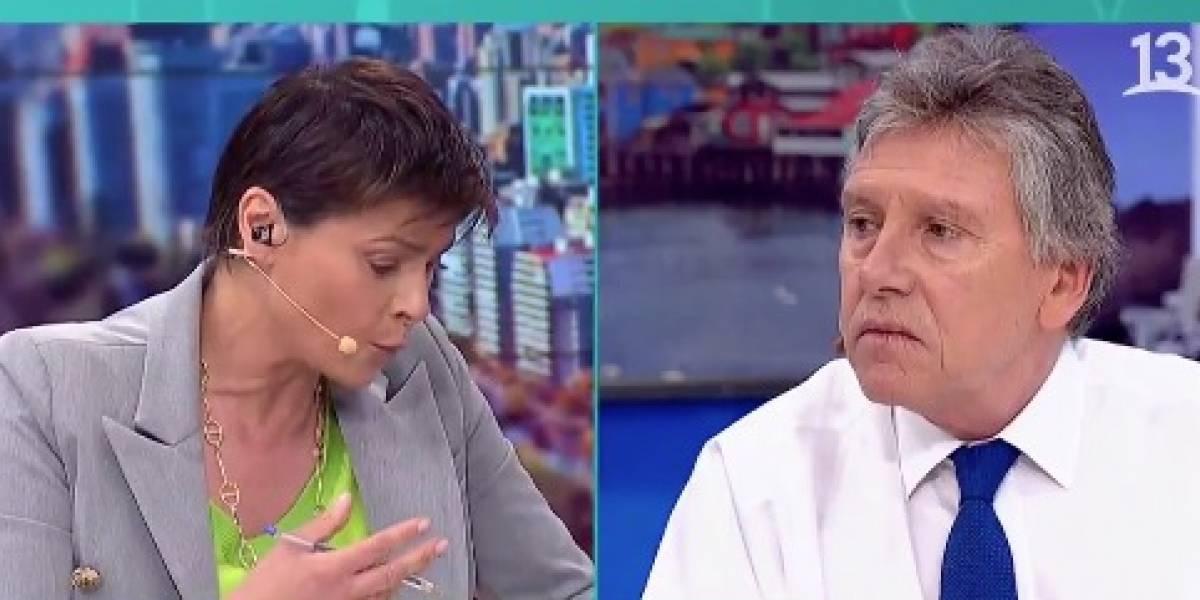 """""""Es una calumnia"""": ministro Espina responde a Mon Laferte tras acusación contra uniformados por incendios"""