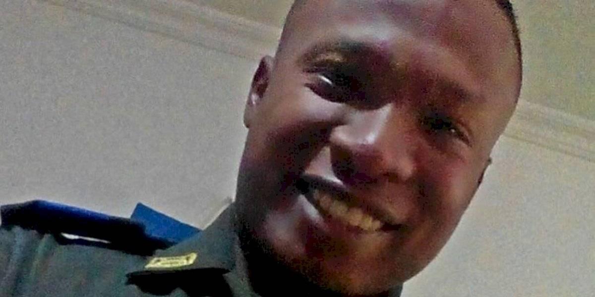 El mundo al revés: policía colombiano que perdió ojo durante el Paro Nacional hace un llamado a la reconciliación
