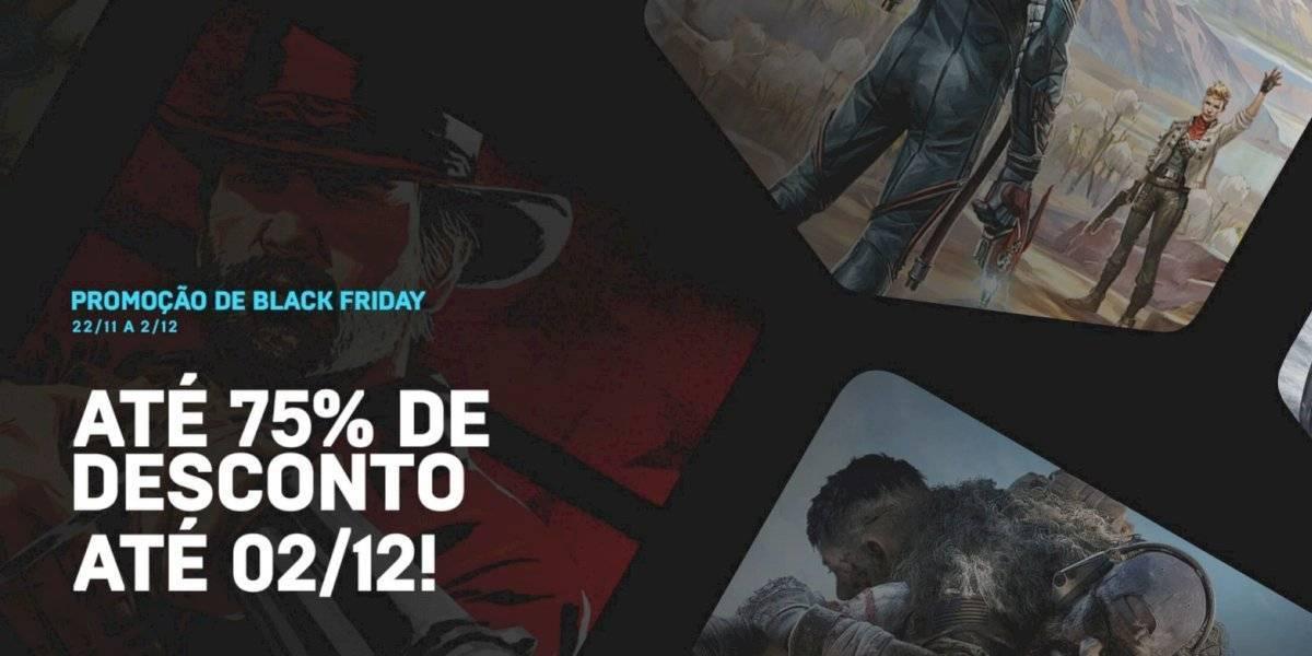 Já está disponível promoção de Black Friday da Epic Games Store
