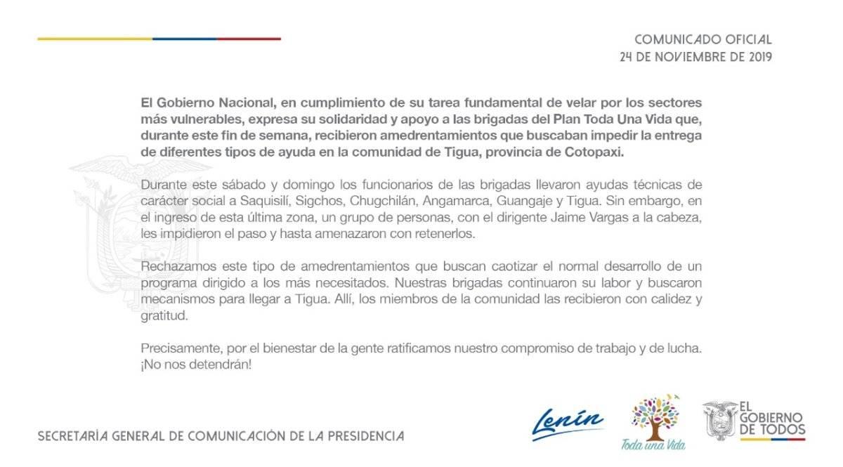Comunicación Ecuador