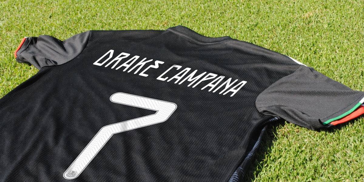 Selección mexicana diseña playera especial para Drake Bell