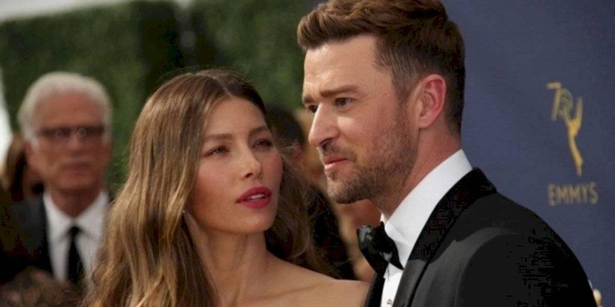 Video. Captan a Justin Timberlake en escenas comprometedoras con una mujer que no es su esposa