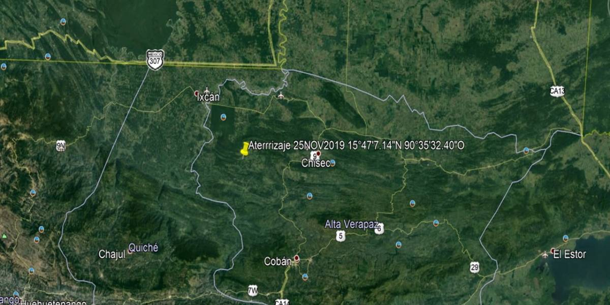 Ejército localiza avioneta accidentada en Quiché