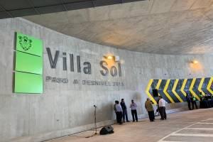 Municipalidad de Guatemala inaugura paso a desnivel en 35 calle de la avenida Petapa