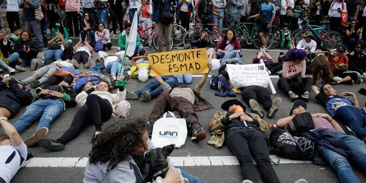 Atención: marcha de estudiantes circulará hacia el norte de Bogotá