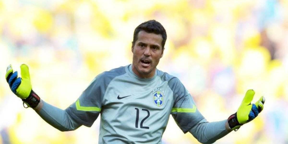 VIDEO. Julio César pierde el conocimiento al festejar gol del Flamengo