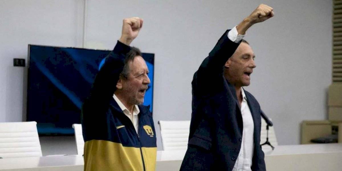 Pumas presenta a Leopoldo Silva como su nuevo presidente