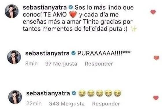 Sebastián Yatra y Tini