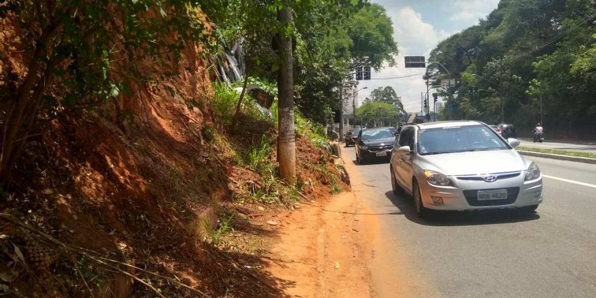 Interditada desde março, avenida Francisco Morato ainda terá mais três meses de obras