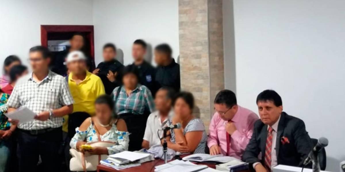 Presunto secuestro de pareja de esposos para hacerles justicia indígena