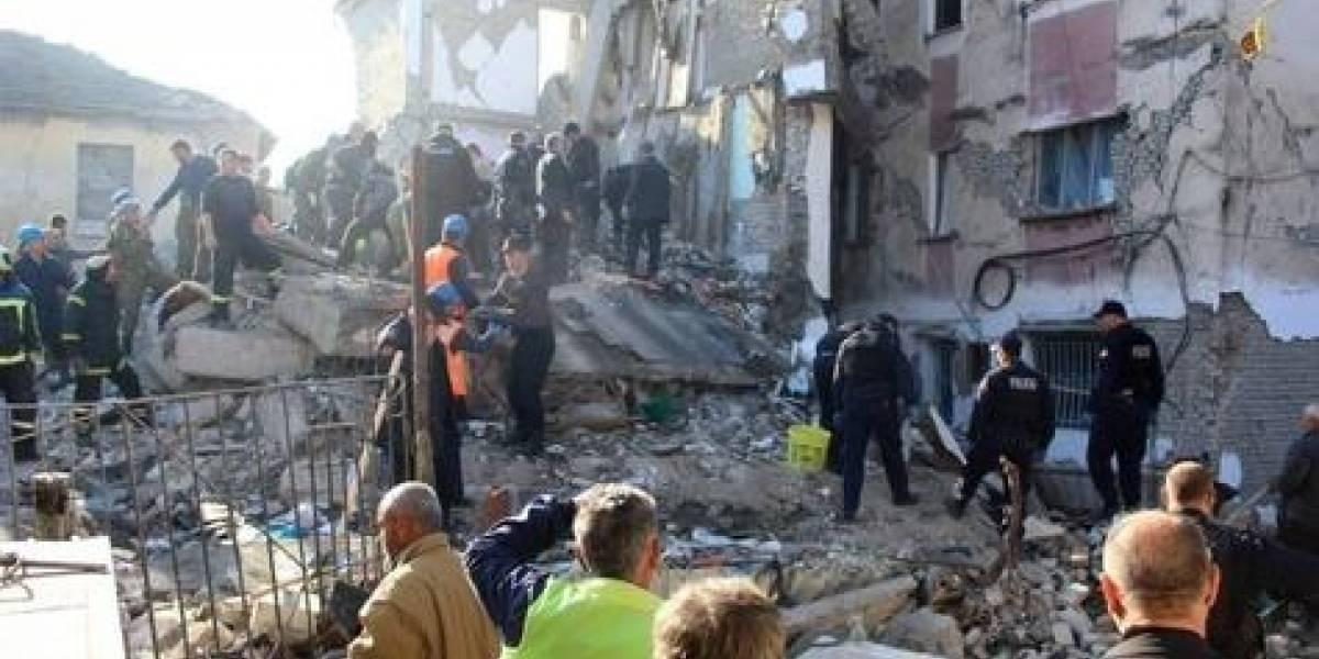 Terremotos en Albania dejan al menos 20 muertos y más de 600 heridos