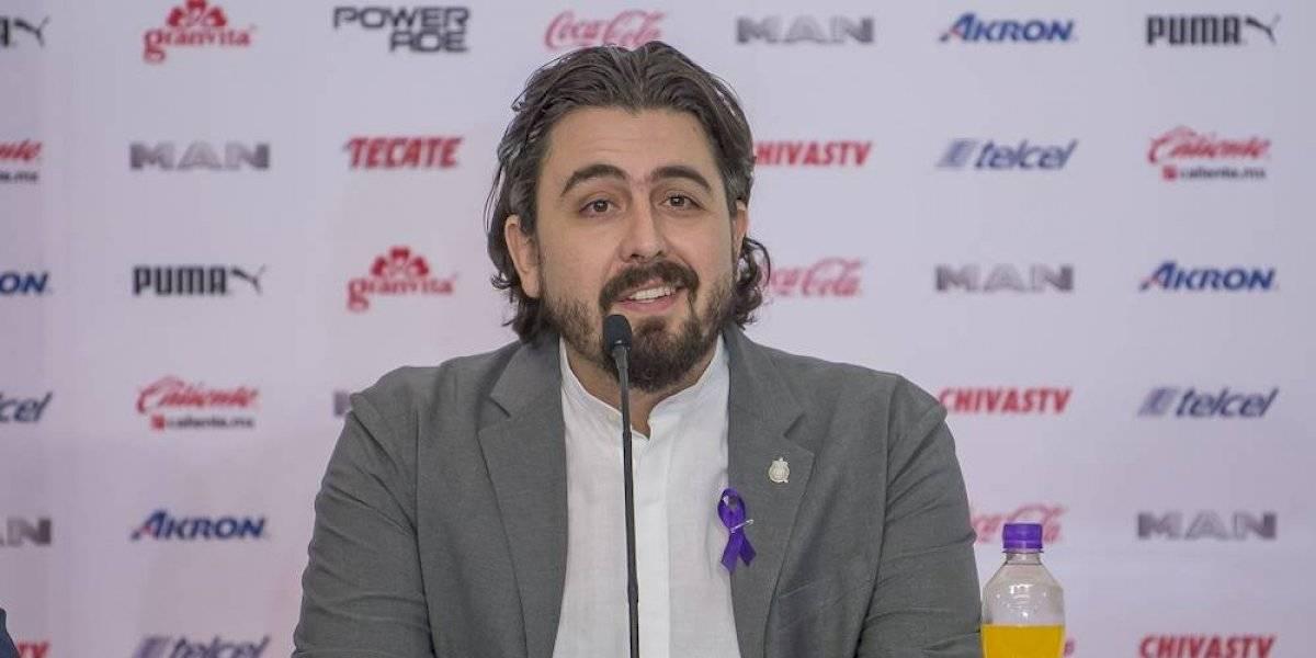 Amaury Vergara revela que Chivas no está en venta