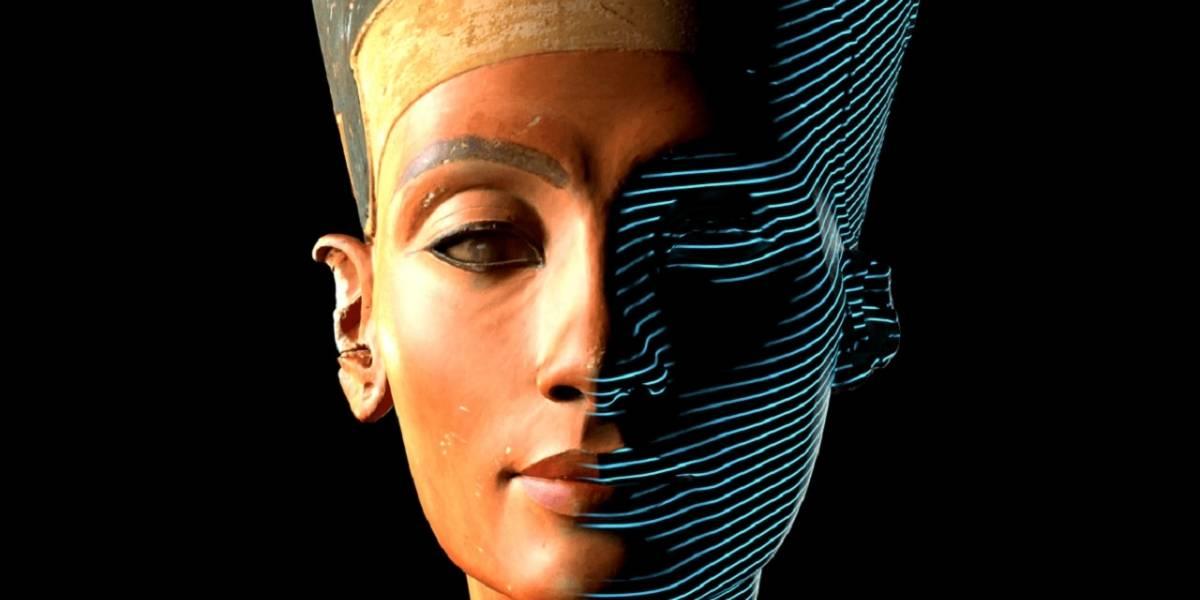 Revelado modelo 3D de la reina Nefertiti del Antiguo Egipto