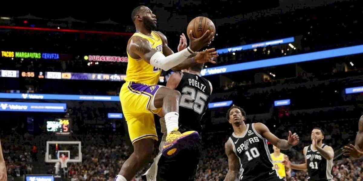 LeBron James sigue en modo MVP y estira la racha ganadora de Los Angeles Lakers en la NBA