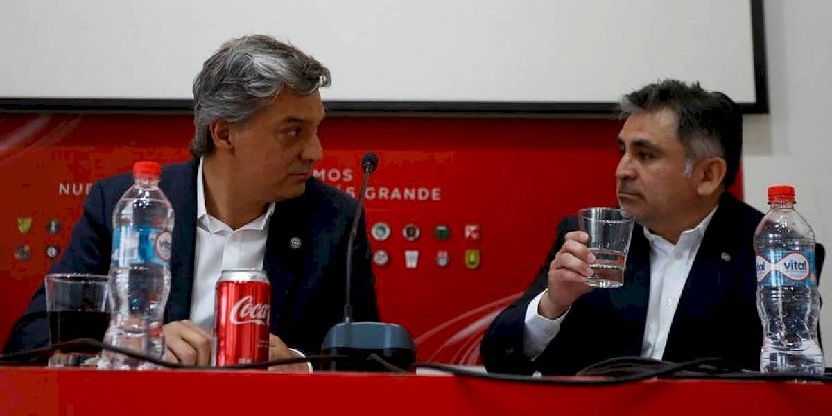 """Sebastián Moreno apuntó a los clubes tras reunión con el Sifup: """"Estamos con la necesidad y el ímpetu de volver a encontrarnos en nuestro fútbol"""""""