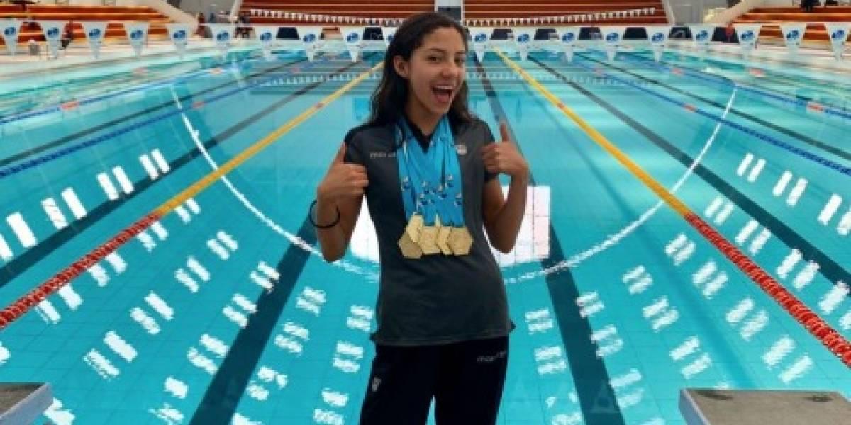 Danna Martínez está lista para competir en Sudamericano Escolar en Paraguay