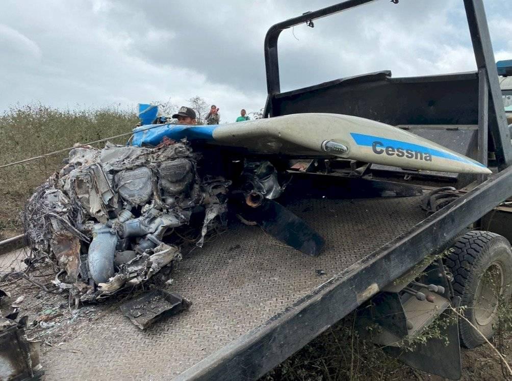 Fiscalía investiga caída de avioneta con droga en Manabí