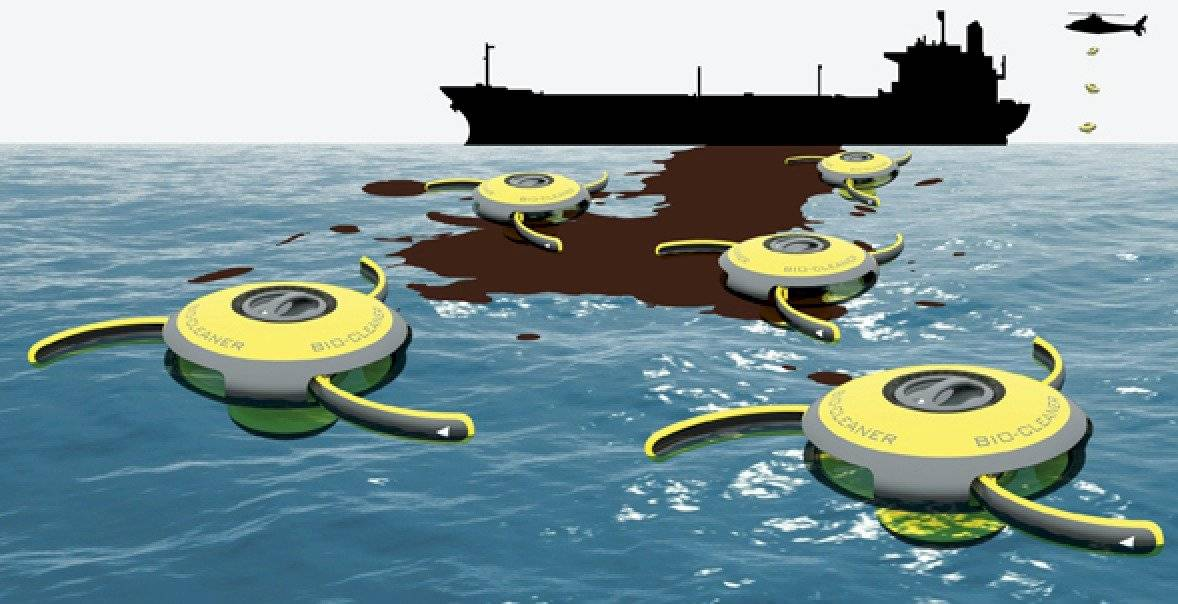 Sea Cleaning Drones