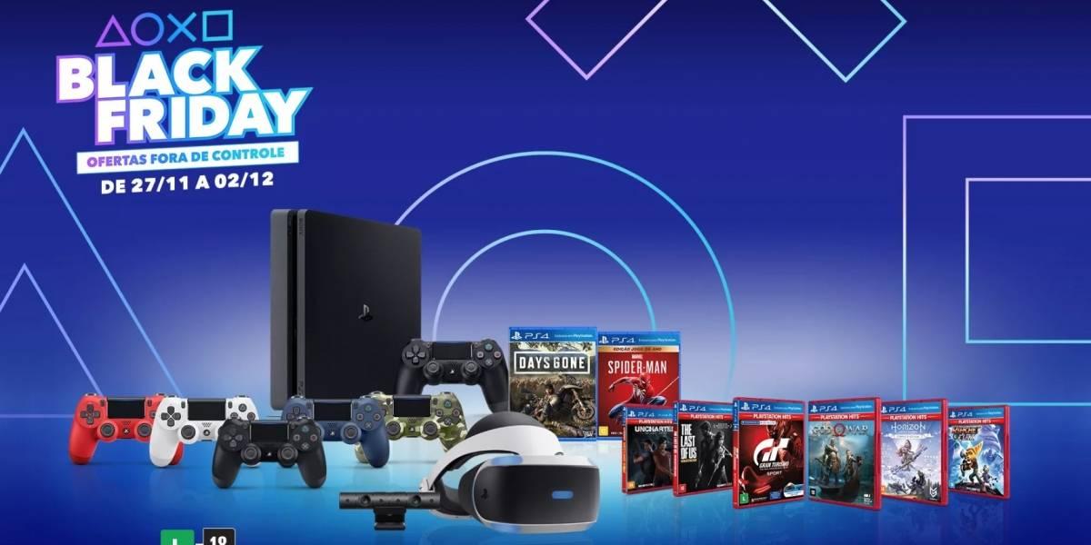 Confira as ofertas da Black Friday e Cyber Monday para PlayStation