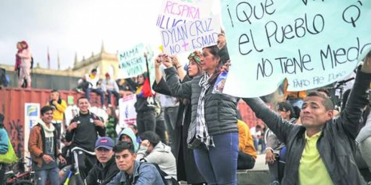 """""""La situación en Chile claro que ha influido en las protestas en Colombia"""""""