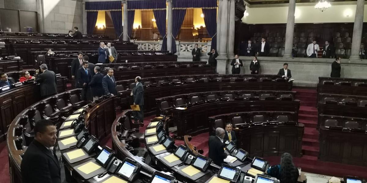 Congreso gasta Q19 millones para alimentación de nuevos diputados